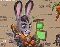 RABBITS AND ROBOTS