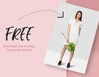 Free Tropic Women's Dress Mockup