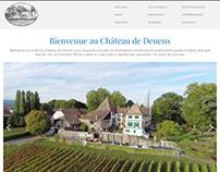 Château de Denens Web Design