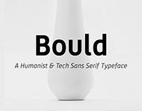 Bould typeface