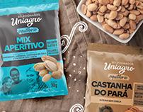 Uniagro - Linha de Snacks Saudáveis