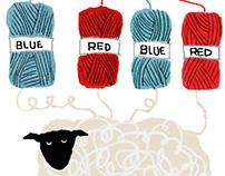 A short video Sheep and yarns