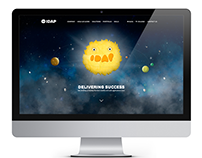 IDAP Group Website concept design