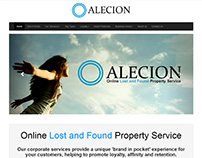 Corporate Lost and Found Service Website