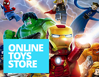 Online toys store.
