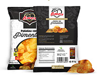 Paprika Chips - Patatas Fritas con Pimentón Amor