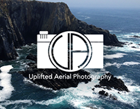 Uplifted Aerial Photography Logo & Branding