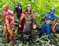 Marvel Avengers - Paper Toy Photography