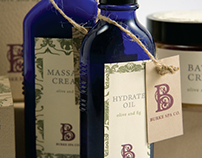 Burke Spa Identity and Packaging