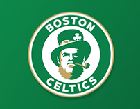 Boston Celtics logo concept