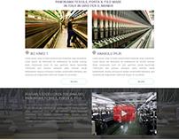 Anadolu İplik Website Arayüz Tasarımı
