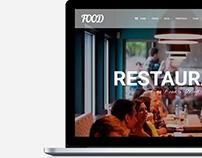 Food WordPress Theme - Restaurant Sites Builder