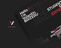 Vorion   logo & website