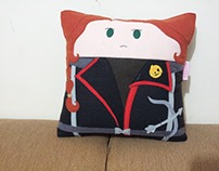 Handmade The Hunger Games Katniss Everdeen Plush Pillow