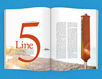 Line 5: Magazine Editorial Article