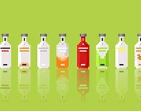 Pixelated Drinks