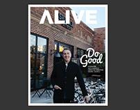 Alive Magazine: Editor