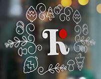 KLUKVA restaurant identity