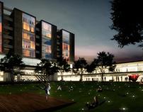 Concurso de arquitectura: Vivienda, comercio, oficinas