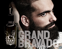 Grand Bravado - Oil Advertisement