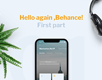 Hello again, Behance!