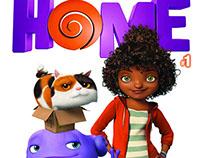 DreamWorks Home Comic - #1 - Titan Comics