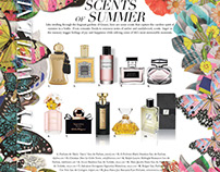 Beauty Products Editorial Pages