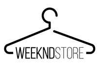 WeekndStore logo and store design