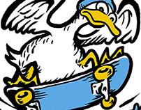 Riverside Militia Skate School Logos