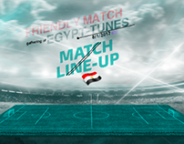 match line-up??