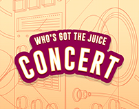 Who's Got The Juice | Poster Design