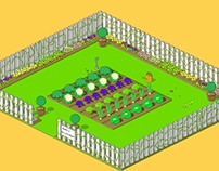 Pixel Art Allotment