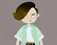 Character design for KOPP KVO