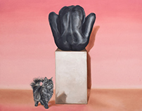 Body Language, oil on canvas, 2015