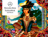 Textile Design for Mercedes Benz Fashion week