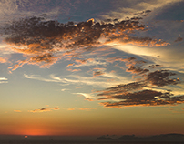 Summer Sunset Miraflores