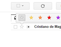 GMail Star Improvement (UX Design) 2.0