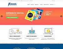 Diseño web · Imprenta digital Zaragoza