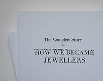 'How We Became Jewellers'. Book