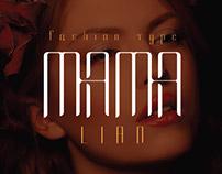 Mama lian - Typeface