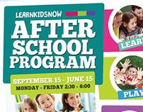 After School Program Flyer Templates
