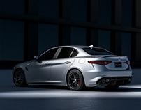 Alfa Romeo Giulia CGI