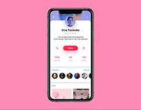 Daily UI. Day 6. User Profile