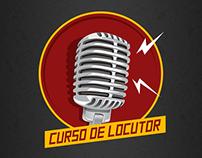 Curso de Locutor - Logo e Site