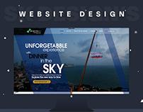 Website Design dinnerinthesky.pk