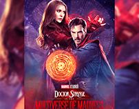 Doctor Strange: Multiverse of Madness Poster Design