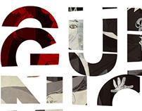 Guernica poster e capa de programa da OBA