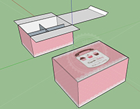3D Project : Cupcake Box Layout