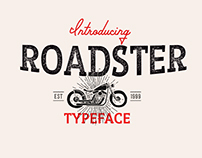 Roadster Typeface(FREE)