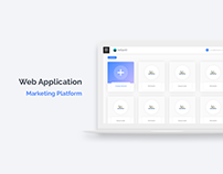 Web App | Marketing Platform